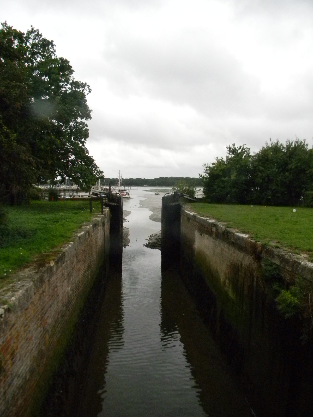 Sea lock, Chichester Ship Canal Chichester to West Wittering