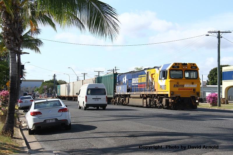 Dodging Trains by David Arnold