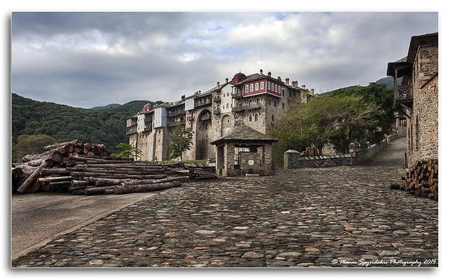 Holy Monastery of Iviron, Mt. Athos, Greece - Ιερά Μονή Ιβήρων, Άγιον Όρος