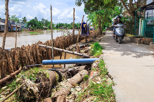 Erosion Management Project, An Binh Ward.