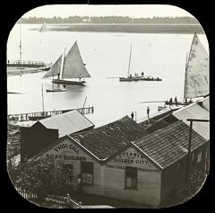 Boat Sheds, Lake Wendouree (1910)