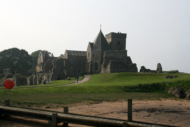 The ruins of Inchcolm on Inchcolm island