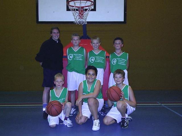 Teamfoto's 2004