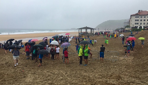 Campeonato de balon mano en la playa de Zarautz 2-7-2016