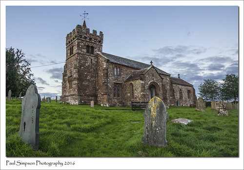 cumbria church religion september2016 sonya77 imageof imagesof paulsimpsonphotography photoof photosfrom photosof england graves headstones stcuthberts tower religious building edenhall village villagechurch