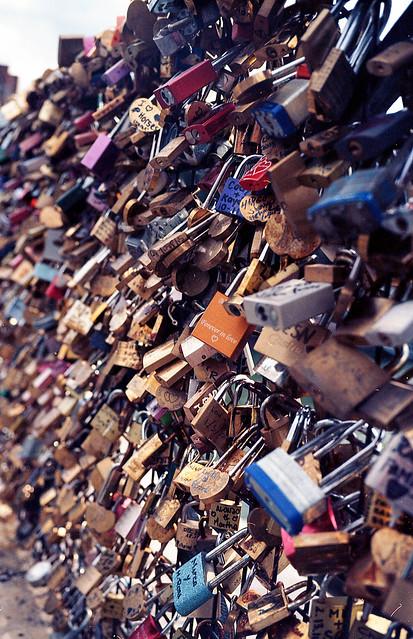Locked forever, Paris, France