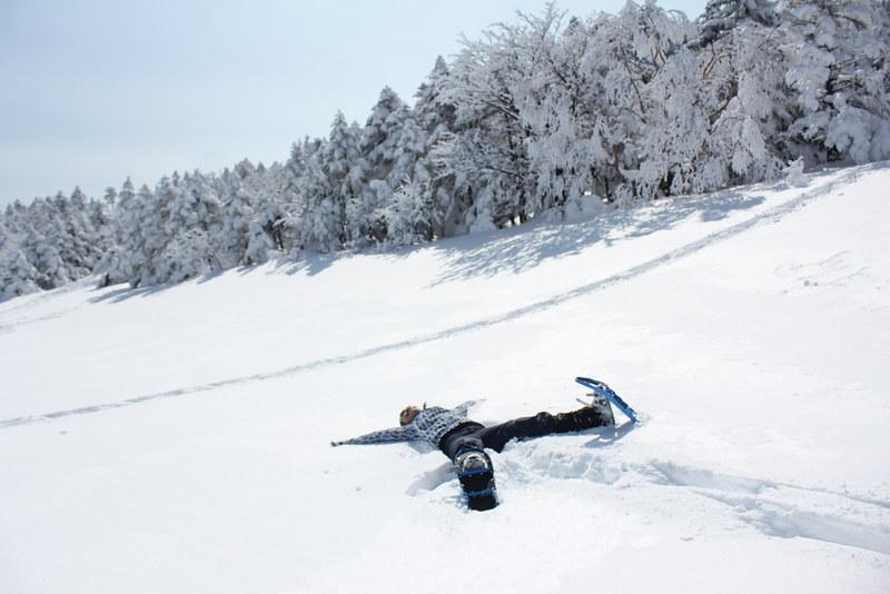 冬の北横岳 雪山登山