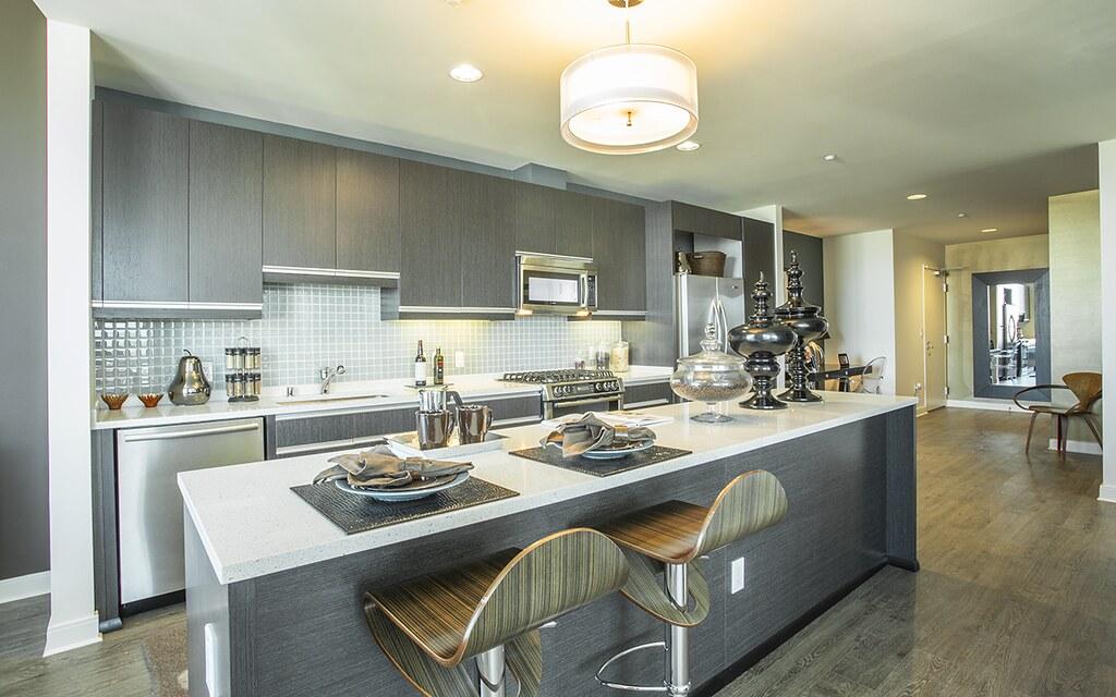360 Residences Apartments San Jose Ca 2 Bedroom Model Unit