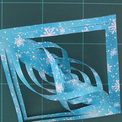 วิธีทำดาวกระดาษรุปเกล็ดหิมะ สำหรับแต่งบ้าน ช่วงเทศกาลต่างๆ (Paper Snowflake DIY) 012