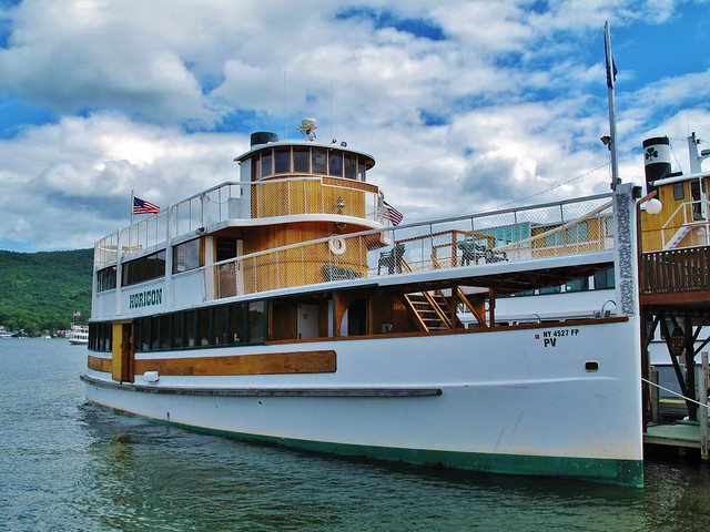Horicon Steamboat at Lake George