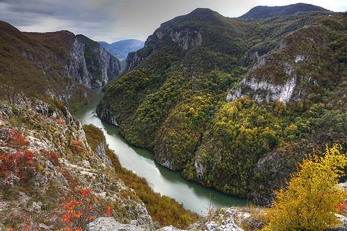 river bosnia canyon lim balkan srpska bosnaihercegovina републикасрпскa боснaихерцеговина