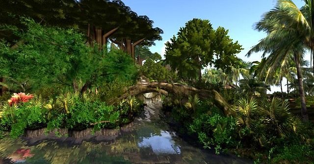LICK sim Design Tropical Rainforest