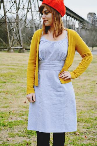 Colette Patterns Dahlia Dress - Version 2 | by MissMake