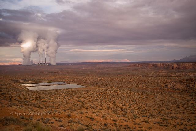 Navajo generating station...