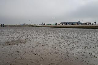 Graues Wetter in Norddeich