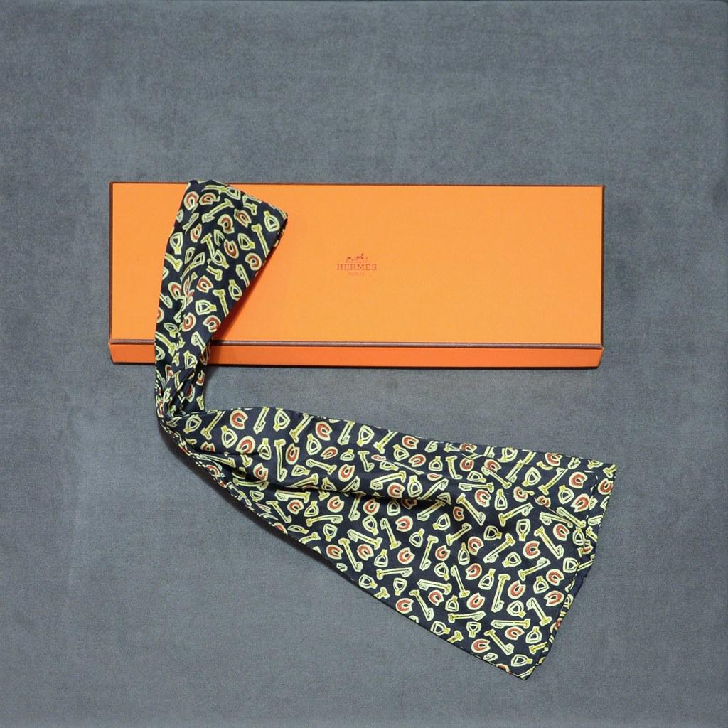 Hermès Silk Floppy Necktie