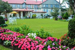 Sri Lanka. Nuwara Eliya. Grand Hotel.