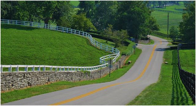 Back roads near Georgetown KY, (HFF)