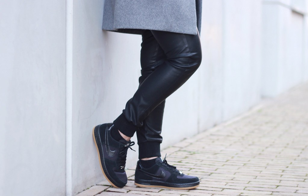 Outfit Nike air force 1 low black gum | Shout out to you