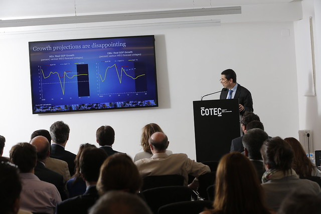 "Presentación Informe ""Fiscal policies for innovation and growth"" del FMI en Cotec"