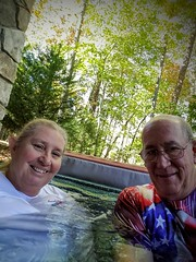 Selfi I not big on Selfi s once in while OK my wife And spent a couple days in Blue Ridge Ga at  a cabin.
