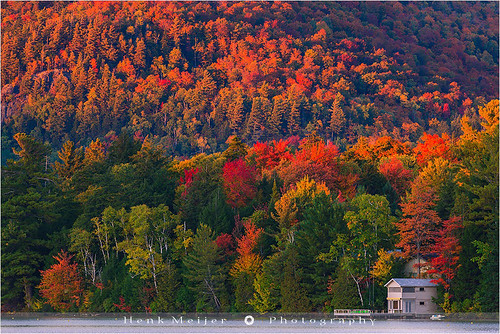 park autumn trees sunset usa tree colors canon landscape photography evening colorful colours unitedstates state glory mirrorlake newyorkstate colourful adirondack lakeplacid floydian canoneos1dsmarkiii henkmeijer