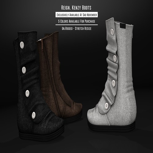 REIGN.- Kenzy Boots