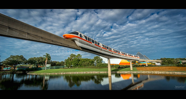 Epcot - Monorail Orange