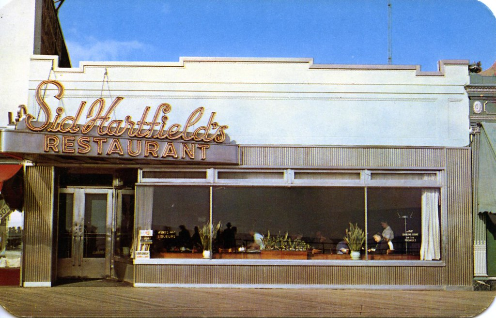 Sid Hartfield S Restaurant Atlantic City Nj 1617 Boardwalk