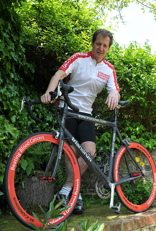 Celebrities - Alastair Campbell - Cycling - Photoshoot for general market use - DSC 6187