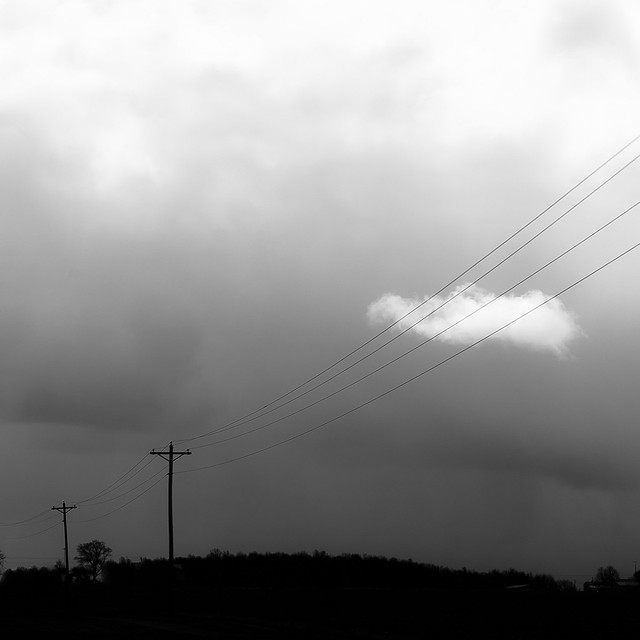 Telephone Lines and Cloud