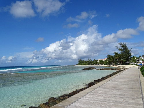cruise vacation caribbean silversea silverwhisper beach boardwalk barbados accrabeachhotel