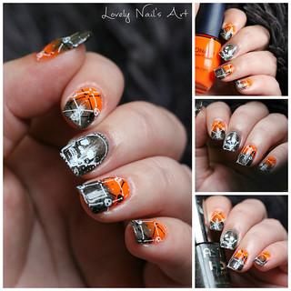 #nailart #nail #nails #nailstamping #stamping #stampingnailart #manucure #manicure