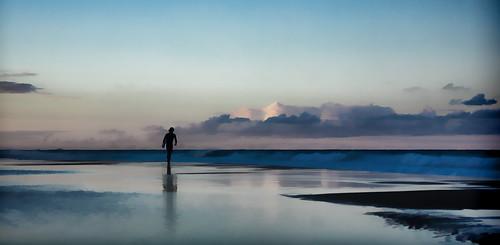 sunset seascape beach photoshop surf surfer dream australia photoart goldcoast burleighheads allieca