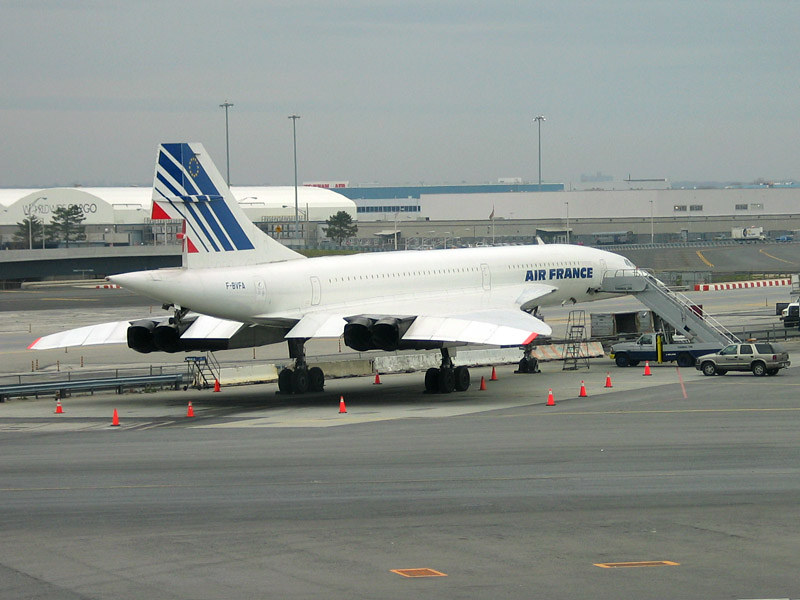 Concorde 2003 at John F. Kennedy Airport, NY