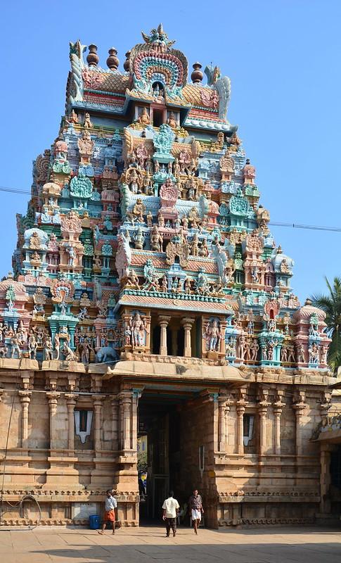 India - Tamil Nadu - Tiruchirappalli - Sri Ranganathaswamy Temple - 28