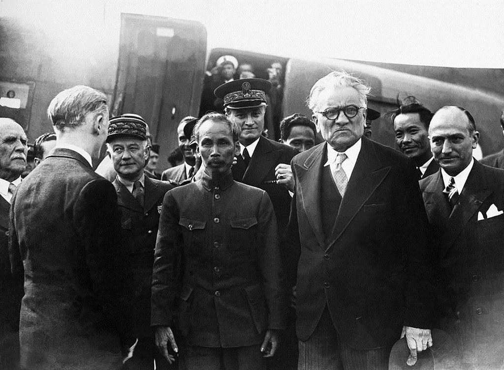 Ho Chi Minh en Francia