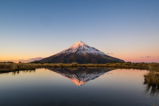 Taranaki reflections captured from Pouakai Tarn. | by siyamalan.com
