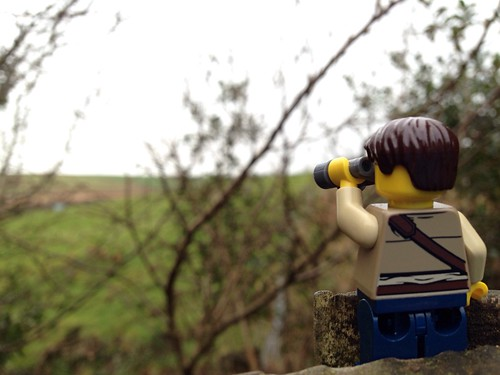 field wales view lego binoculars valley mountainview adventurerjoe