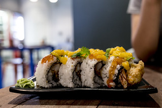 Mango Chicken Sushi | by Photos By Dlee