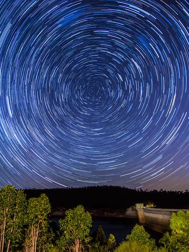 nightphotography night way photography star nikon long exposure dam trails australia reservoir tokina galaxy astrophotography perth western astronomy f18 universe milky 11mm westernaustralia canning startrails nikor canningdam startrailsexe