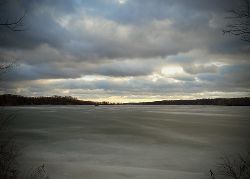 winter sky cold ice clouds nice freeze birdsanctuary eaglecreek eaglecreekpark eaglecreekreservoir
