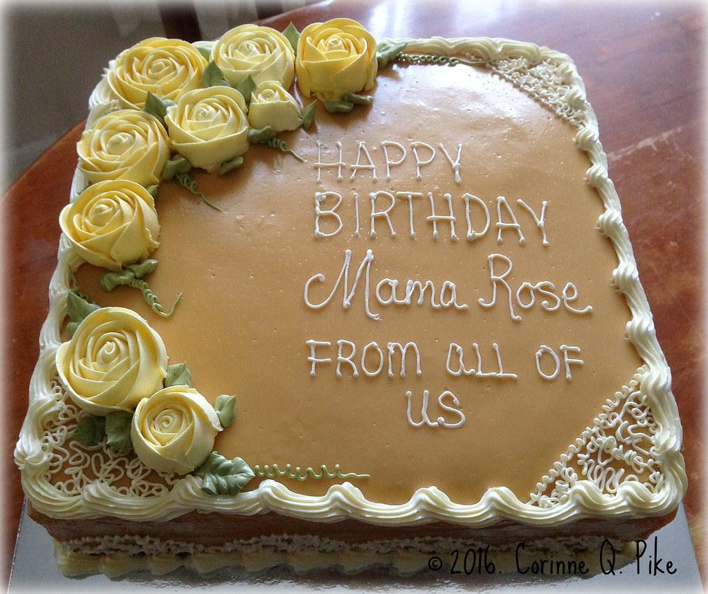 Surprising Caramel Birthday Cake Pike Corinne Flickr Funny Birthday Cards Online Necthendildamsfinfo
