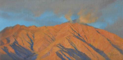 Mt San Ysidro at Dawn