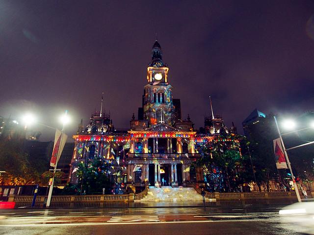 Christmas Lights at Town Hall