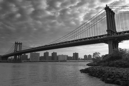 Manhattan Bridge, N.Y.c | by Tixier François