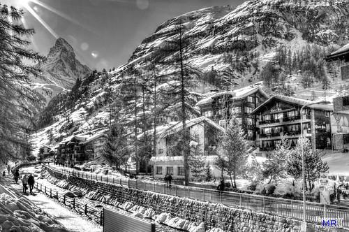 Matterhorn-Zermat-Snow-Landscape | by www.digicrea.be