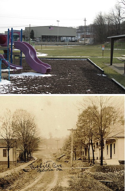 Now and Then @ Petrolia, PA