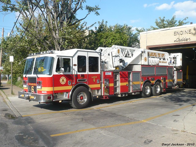 Philadelphia Fire Department Ladder Tower 6