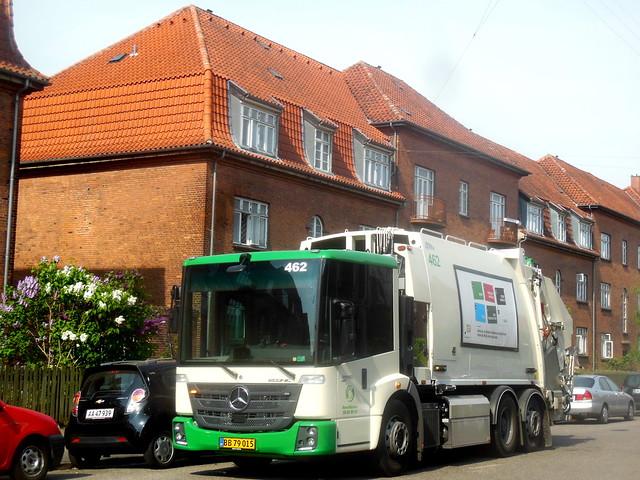 new Mercedes Econic BB79015 trashtruck dustcart refuse truck
